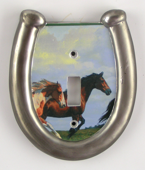 Bathroom Decor Featuring Horseshoes : Horse and western bathroom accessories