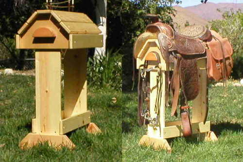 horse saddle stand projects
