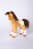 Horse Plush Stuffed Toy Golden Appaloosa Freckles 10""