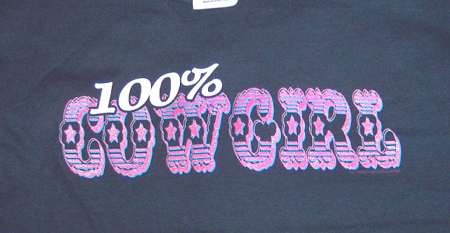 100% Percent Cowgirl Youth Shirt