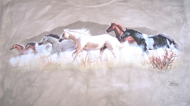 Band on the Run Horse T Shirt