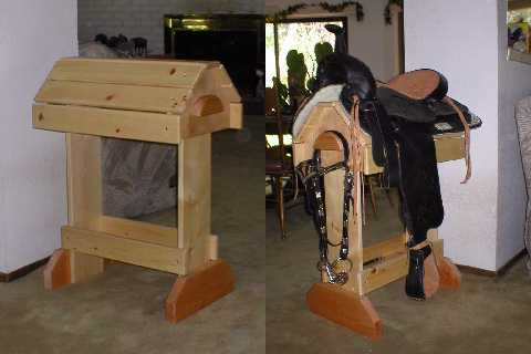 Wood Saddle Stands And Racks With Free Shipping