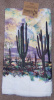 Terry Kitchen Dish Towel Southwestern Desert Sunset