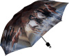 "Umbrella Compact Horse Design 42"" Diameter"