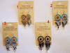 Southwest Aztec Hand Threaded Dreamcatcher Earrings