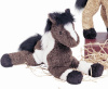 Horse Plush Stuffed Toy Brown Indian Paint Durango 9""